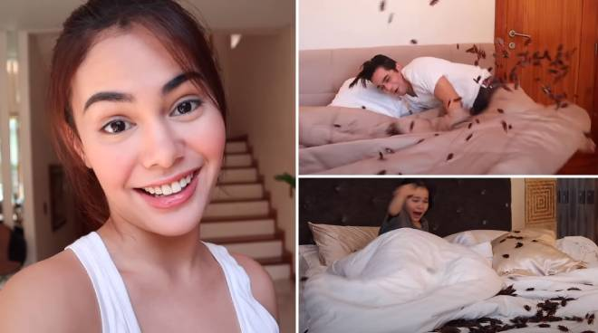 LOL! Ivana Alawi wakes up siblings with  'Ipis Prank'