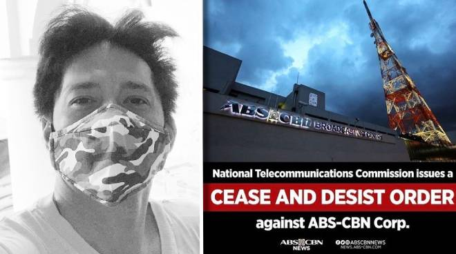 Robin Padilla condemns ABS-CBN shutdown, urges government to start acting on media giant's renewal