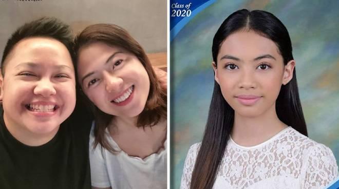 Ice Seguerra proud of wife Liza Diño's daughter Amara for finishing elementary
