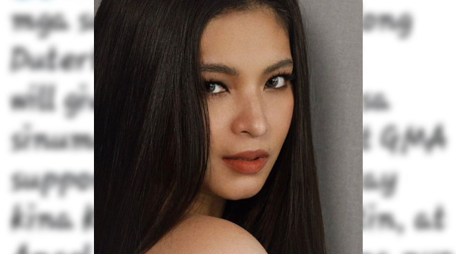 LOOK: Angel Locsin exposes netizen offering 200M bounty to kill her, other ABS-CBN artists