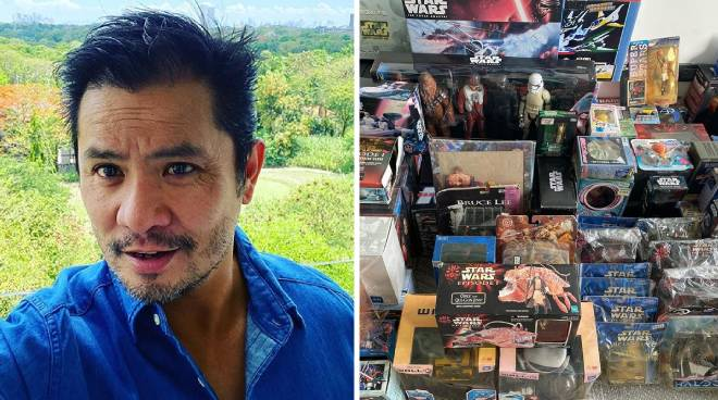 Ogie Alcasid donates Star Wars toy collection for Angel Locsin's fundraiser