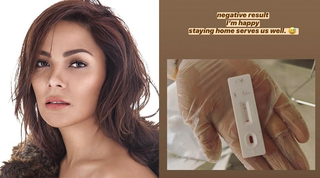 KC Concepcion undergoes  COVID-19 rapid test, gets negative result