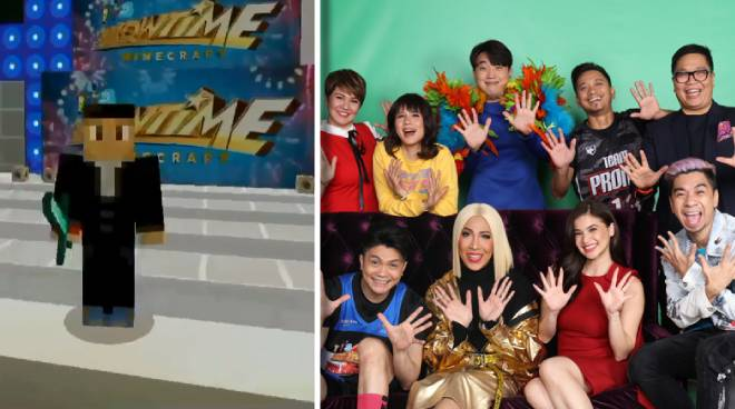 This Minecraft rendition of 'It's Showtime' studio will make you miss the noontime show even more