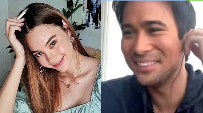 WATCH: Sam Milby gets kilig over Catriona Gray's birthday greeting
