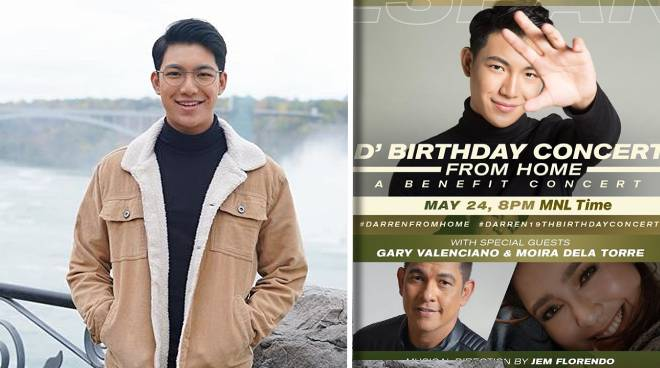 Darren Espanto's birthday concert at home raises P526,000 for charity