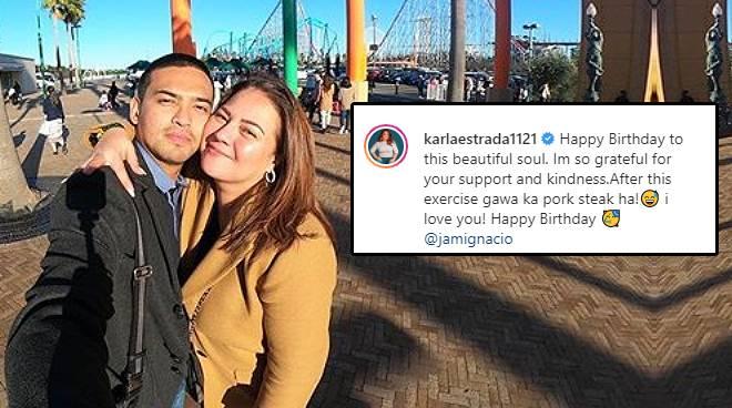 Karla Estrada pens sweet message for boyfriend on birthday