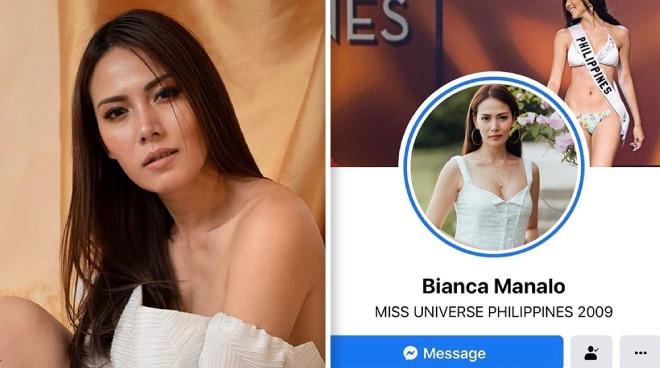 Hackers, umatake sa social media accounts ni Bianca Manalo