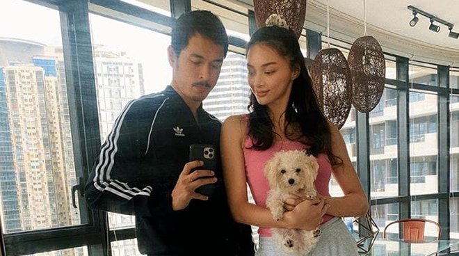 Jake Cuena on spending home quarantine with Kylie Verzosa: 'We don't usually have so much drama'