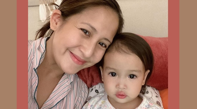 Jolina Magdangal, Mark Escueta's daughter turns 2