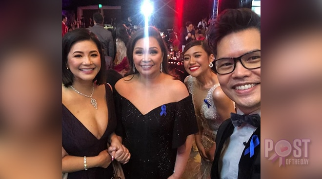 Regine Velasquez spotted at the ABS-CBN Ball 2018
