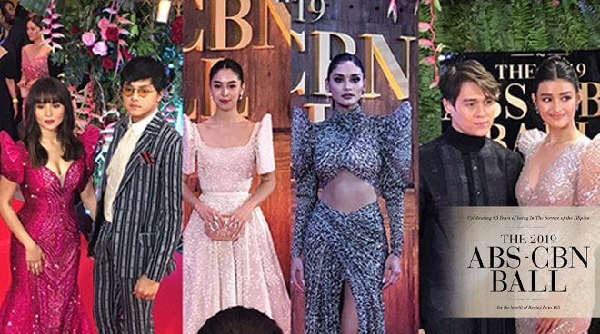 ABS-CBN Ball 2019: A complete list of celebrity attendees