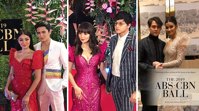 ABS-CBN BALL 2019: Couples and love teams edition