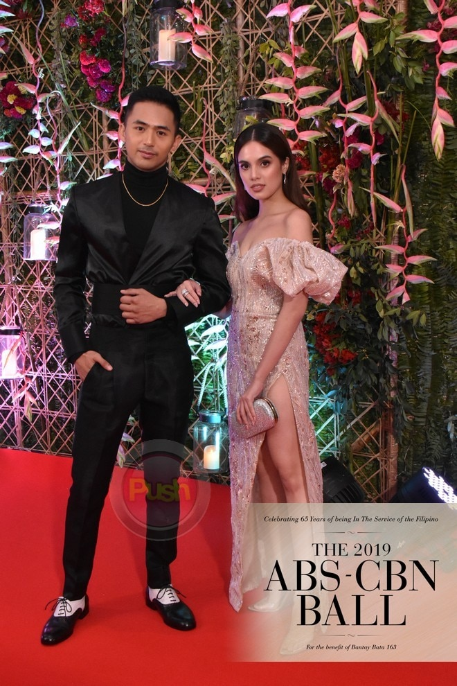 Enzo Pineda and Michelle Vitto