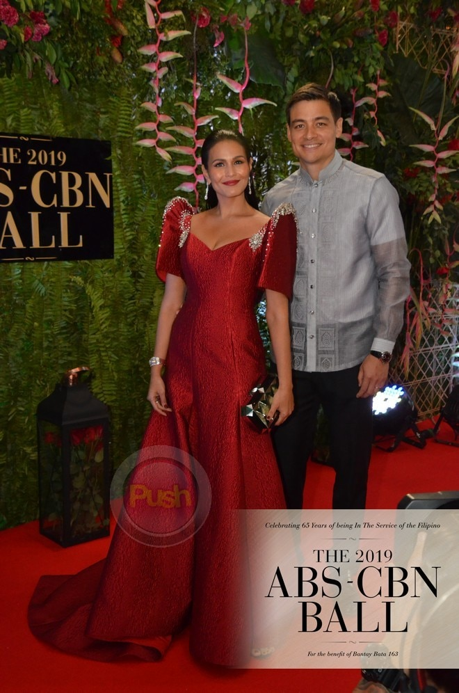 Iza Calzado and Ben Wintle