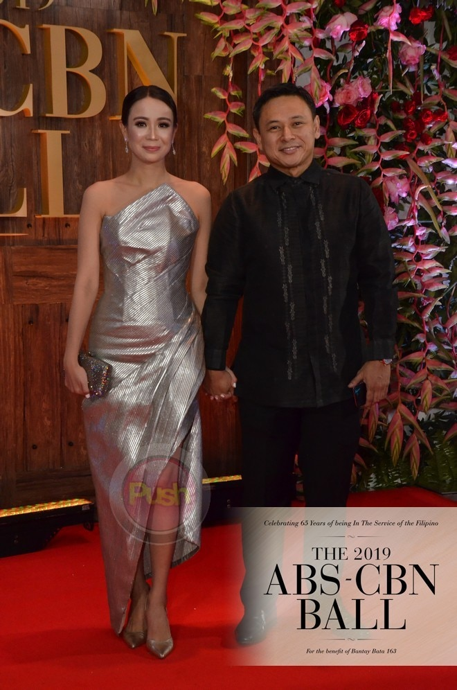 Sonny Angara and wife