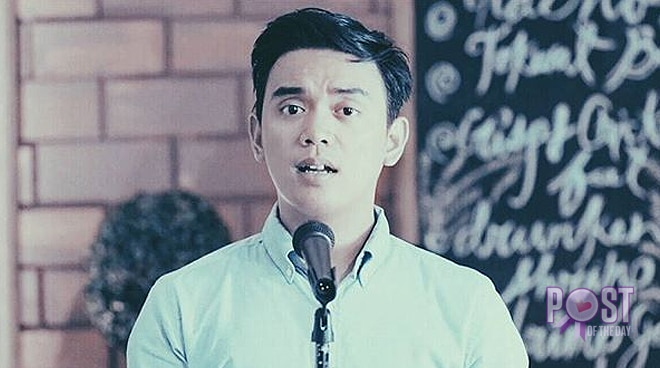 Juan Miguel Severo airs dismay after a mall offered him to perform in exchange of a free meal