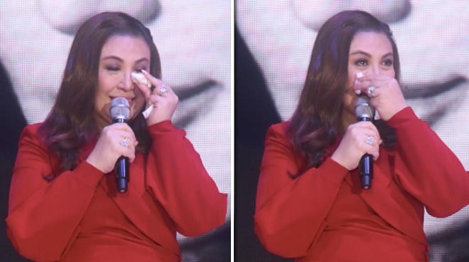 Sharon Cuneta turns emotional as she receives first VIVA Icon award