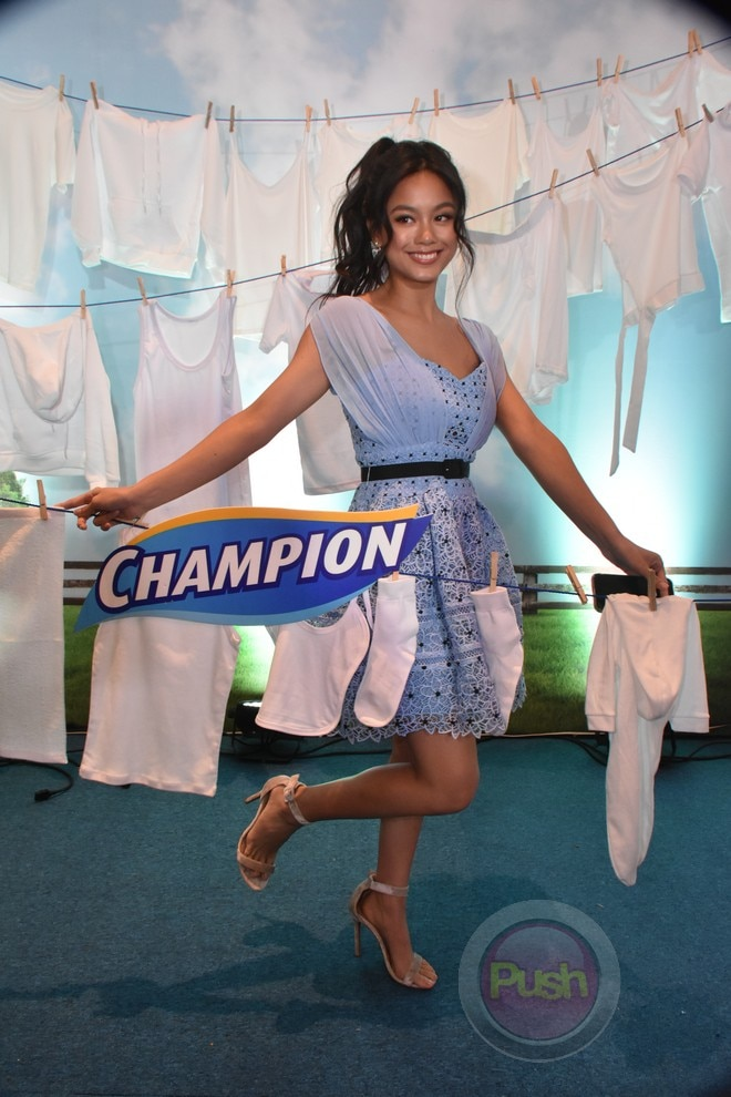 Judy Ann for Champion