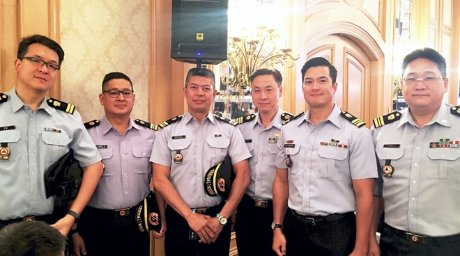 Diether Ocampo is now a lieutenant commander in the Philippine Coast Guard Auxiliary