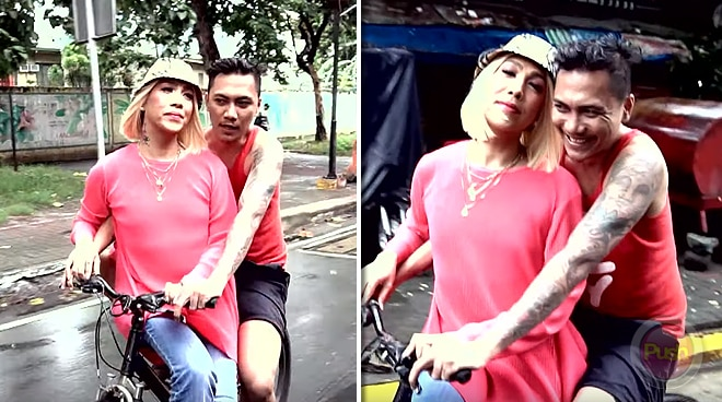 Vice Ganda shares a 'K-drama' like moment with guy on a bicycle