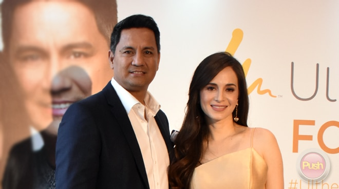 Couple Goals: Richard Gomez and Lucy Torres-Gomez do not feel the pressure to always be picture perfect