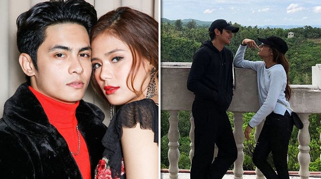 Devon Seron and Kiko Estrada celebrate their anniversary as a couple