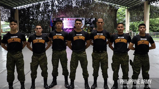 Gerald Anderson, more actors graduate as Private Reservists of the Army