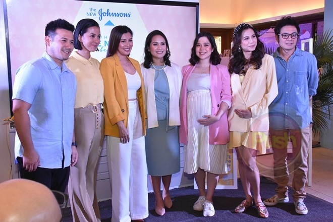 Celebrity parents supports the #ChooseGentle campaign of Johnson's.