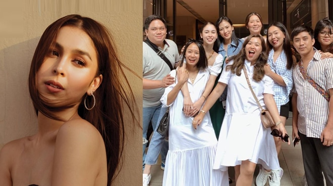 Julia Barretto travels with friends in Hong Kong