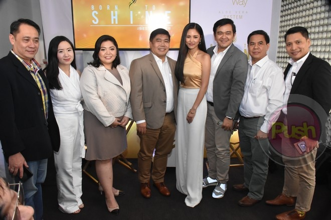 Kim Chiu is the new brand endorser of Nature's Way Aloe Vera System.