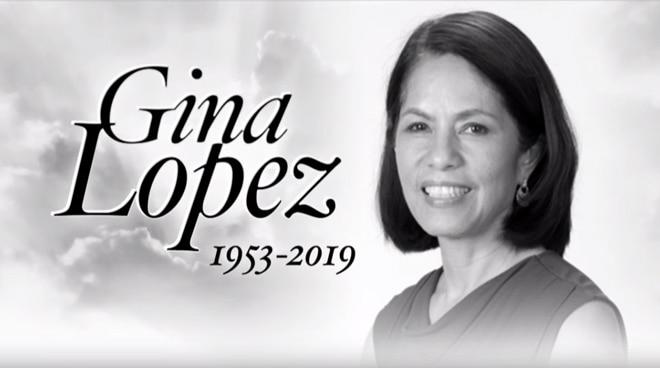Gina Lopez passes away at 65
