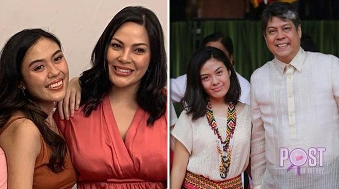 KC Concepcion comforts Sen. Kiko Pangilinan after Frankie goes abroad for college