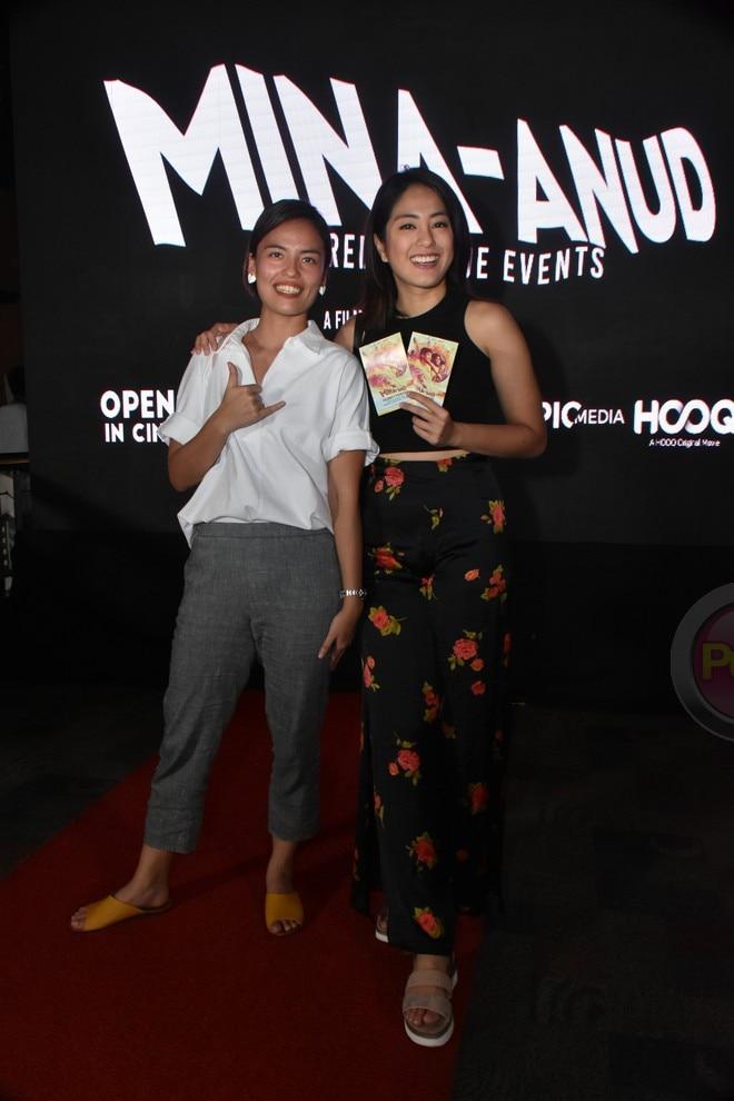 Cast ng 'Mina Anud,' kumpleto sa celebrity screening