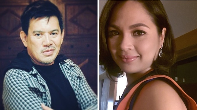 Judy Ann Santos and director Brillante Mendoza on the set of Mindanao the movie.