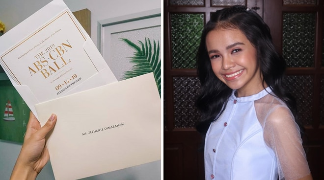 'Idol Philippines' winner Zephanie Dimaranan express excitement about attending the ABS-CBN Ball