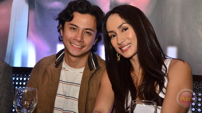 'Nagulat rin ako': JC Santos sa kissing scene nila ni Ina Raymundo