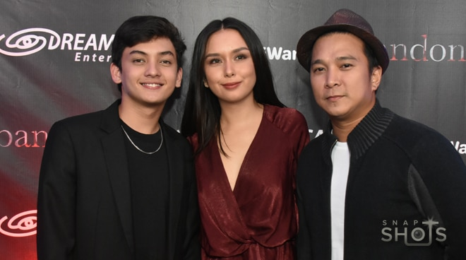 Cast ng Kadenang Ginto, sinuportahan ang iWant horror movie nina Beauty Gonzalez at Seth Fedelin