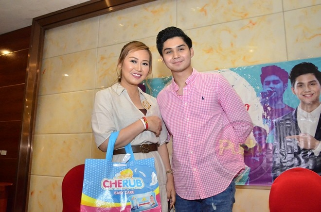 Ryle is still Cherub Baby Care Products' brand endorser.