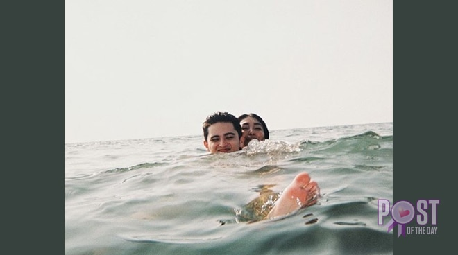 'Drowning' in love? Nadine posts sweet message for James