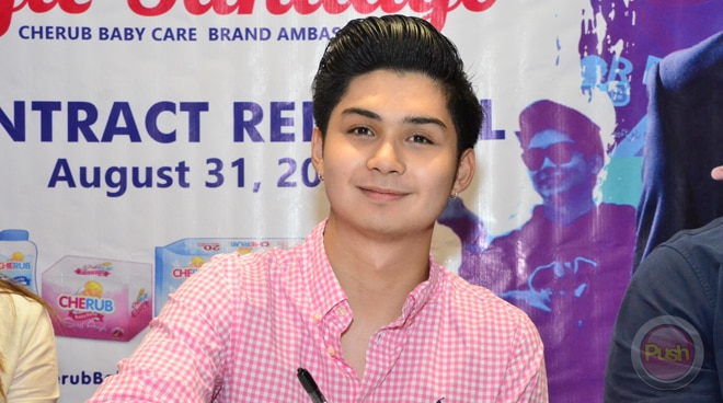 Ryle Santiago renews ties with a popular baby care brand
