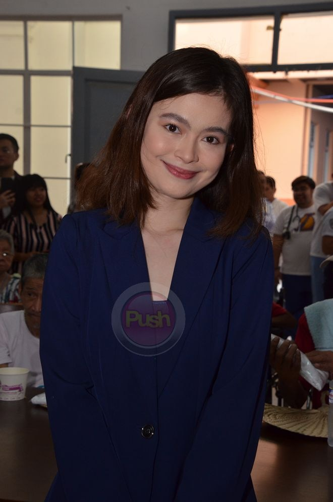 Check out the Star Magic celebrities who gave joy to the elderly at Graces (Home for the Aged).