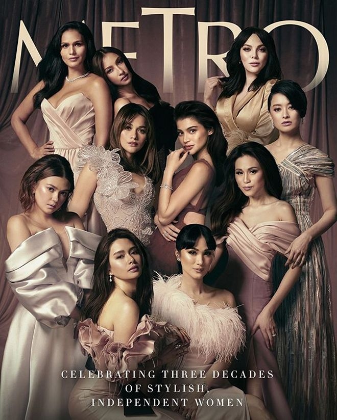 Ten of the country's biggest and brightest female stars today come together.