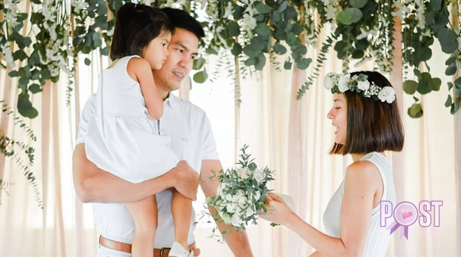LOOK: Bianca Gonzalez, JC Intal celebrate fifth anniversary with renewal of vows