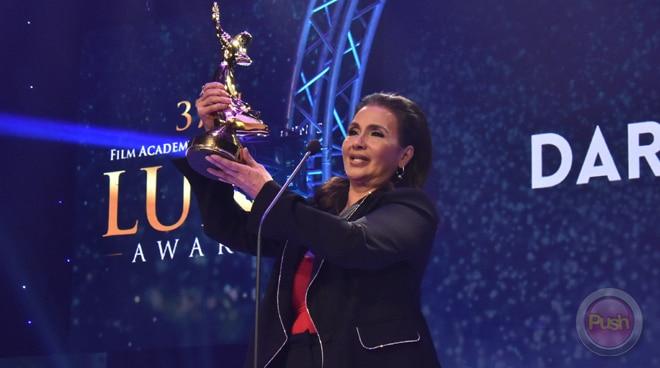 Daria Ramirez, muling tumanggap ng Best Supporting Actress Award matapos ang halos apat na dekada