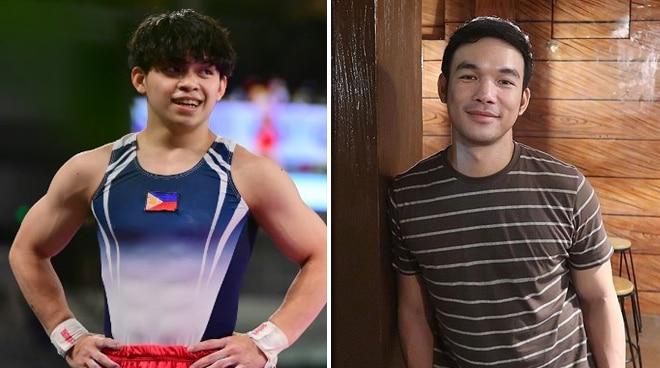 Filipino gymnast Carlos Yulo gets 'shocked' by Mark Bautista's message