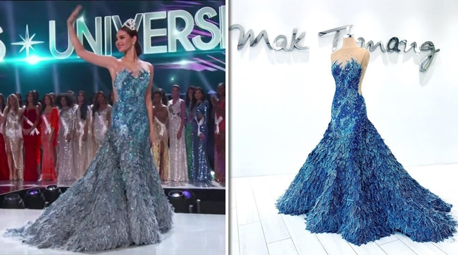 Here is the inspiration behind Catriona Gray's gown for her Miss Universe final walk