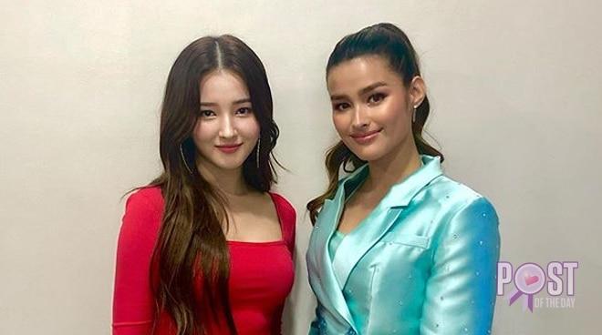 Liza Soberano meets Nancy of Momoland