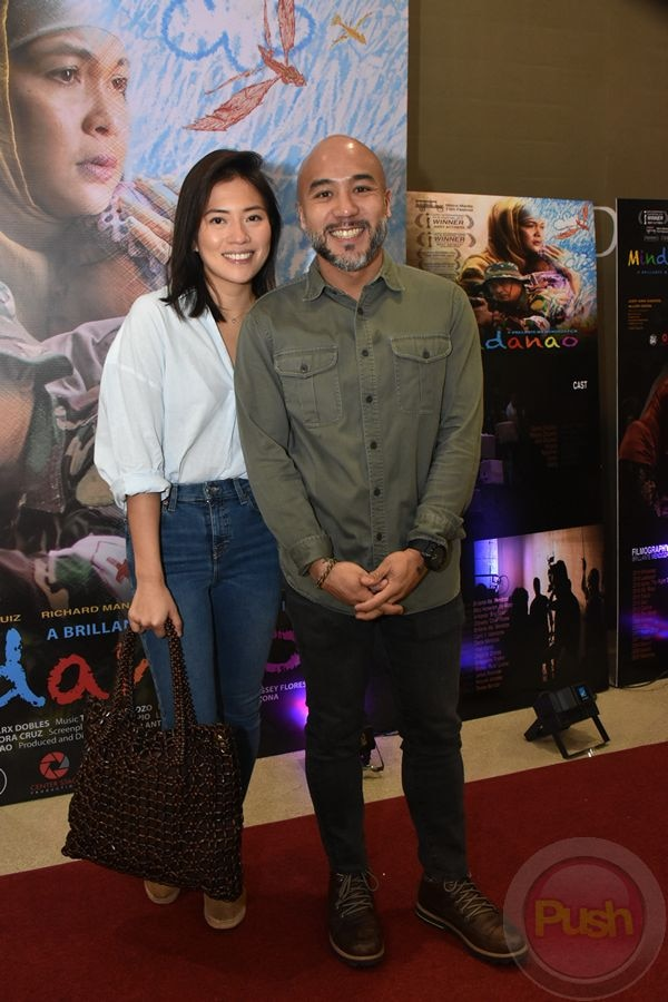 Check out the celebrities present at Mindanao's screening.