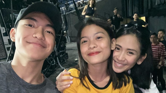 LOOK: Lyca Gairanod and Darren Espanto reunited with their coach Sarah Geronimo