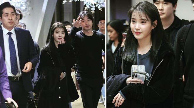 South Korea's darling IU arrives in Manila
